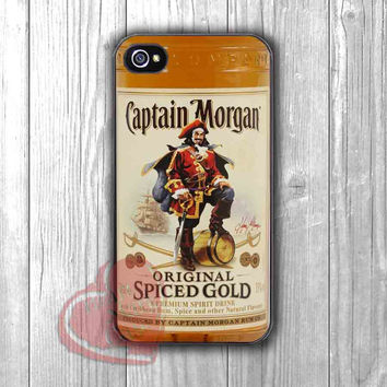 Rum Captain Morgan Spiced Gold Bottle - zd for  iPhone 4/4S/5/5S/5C/6/6+s,Samsung S3/S4/S5/S6 Regular/S6 Edge,Samsung Note 3/4