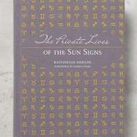 The Private Lives Of Sun Signs by Anthropologie in Light Grey Size: One Size Books