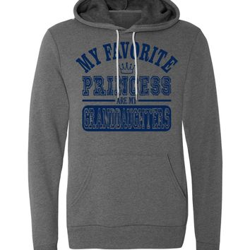 My Favorite Princess Are My Granddaughters Hoodie