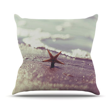 "Libertad Leal ""You are a Star"" Outdoor Throw Pillow"