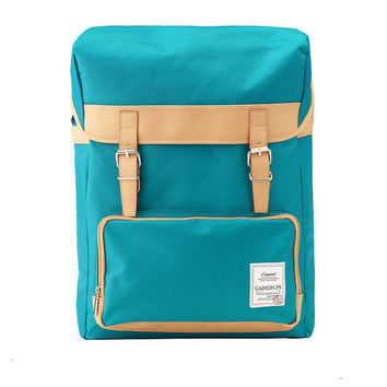 Colorful Big Backpack (Blue Green)