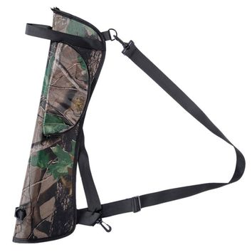 Arrow Bow Bag Target Hunting Archery Quiver Back Hip Waist Bag Arrow Bow Holder Storage Pouch Outdoor Hunting Accessories Camo