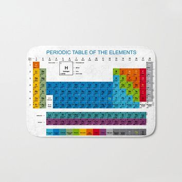 Periodic Table Of The Elements Welcome Doormat