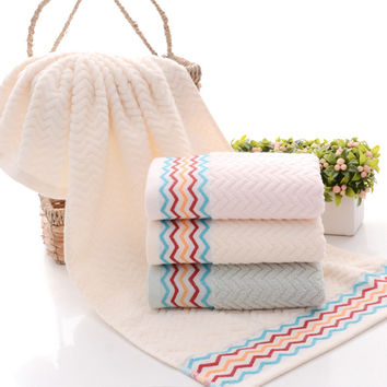 Bedroom Hot Deal On Sale Cotton 3-color Soft Gifts Towel [6381748038]