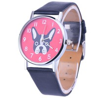 French Bulldog Watch for  Women