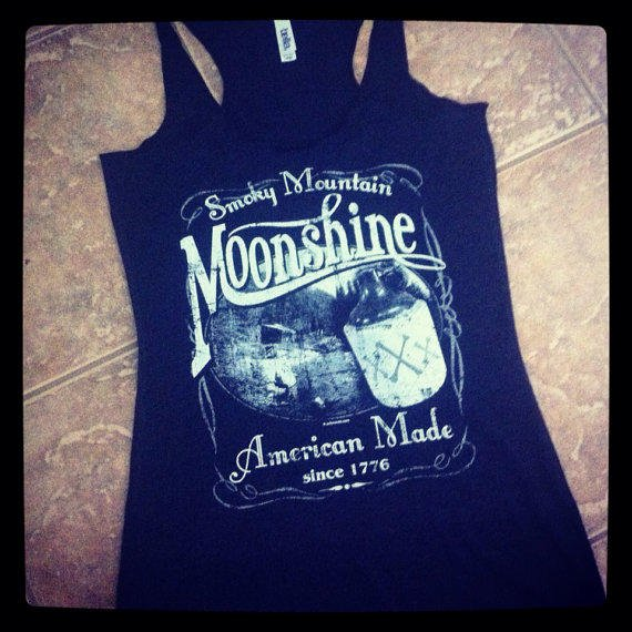 Vintage moonshine smoky mountain american from tees xsseries