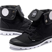 Palladium Baggy Lll Men Turn High Boots Black White