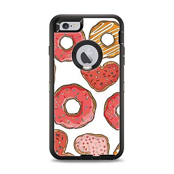 The Vectored Love Treats Apple iPhone 6 Plus Otterbox Defender Case Skin Set
