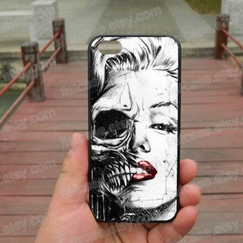Skull case miley cyrus BAD ipone 5s case iphone 4/4s/5/5c case Samsung galaxy s5 case galaxy s3/s4 case covers skin 427