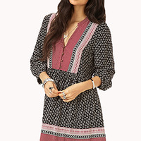 Boho Darling Peasant Dress