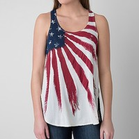 White Crow Flag Tank Top