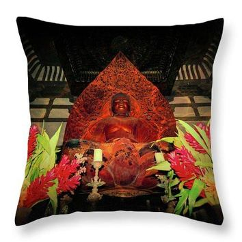 Buddha  - Throw Pillow