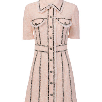 Azra Tweed Mini Dress
