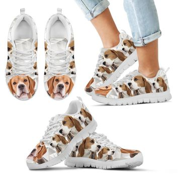 Beagle Print-Kid's Running Shoes-Free Shipping