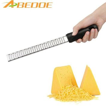 DCCKU7Q ABEDOE Multifunctional Stainless Steel Cheese Slicers Lemon Graters Chocolate Shavings  Ergonomic  handle Cheese Kitchen Tool