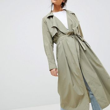 Weekday Trench Coat at asos.com