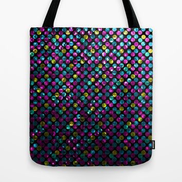 Polkadots Jewels G215 Tote Bag by MedusArt | Society6