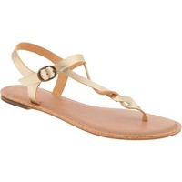 Old Navy Womens Twisted Strap Sandals