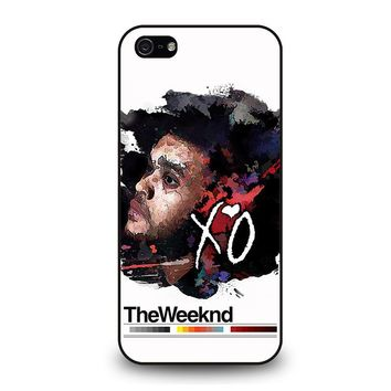 THE WEEKND XO iPhone 5 / 5S / SE Case Cover