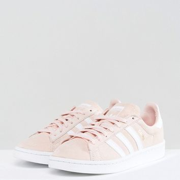 adidas Originals Campus Sneaker In Pale Pink at asos.com
