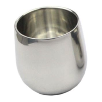 Anti-scald Stainless Steel Big Arc-shaped Cup 200mL