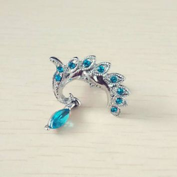 Charming Sexy Hypoallergenic Medical Steel Phoenix Pendant Belly Button Navel Ring Body Piercing Accessories Drop Shipping
