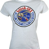 Blink 182  Bunny Seal Ladies T-Shirt - Offical Band Merch - Buy Online at Grindstore.com