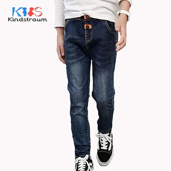 Kindstraum 2017 New Fashion Boys Jeans 11 Styles for 4-12Y Children Casual Pant Kids Soft Denim Trouser for Spring Autumn, MC872