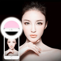 Smart Ring Selfie Light of 4 types of Lighting Phone Led Light for iPhone 6s Plus se iphone 7 for Samsung Android Smartphones