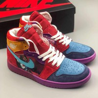 Nike Air Jordan 1 Mid Yots 558059 101 | Best Deal Online