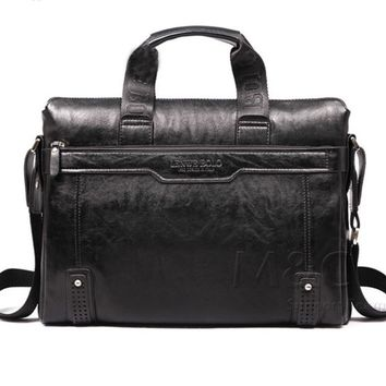 Leather Briefcase Messanger