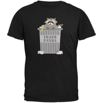 DCCKJY1 Trash Panda Raccoon Black Youth T-Shirt