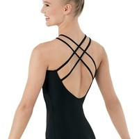 Strappy-Back Halter Leotard | Balera™