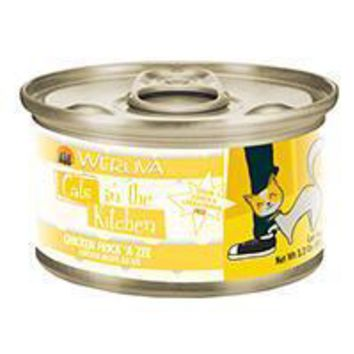 Weruva Chicken Recipe Au Jus Cans Chicken Frick 'A Zee Cat 24-3.2 oz.