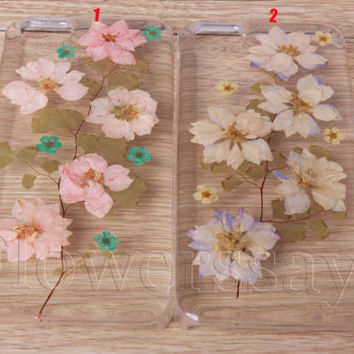 iPhone 6 case iPhone 6 plus Pressed Flower, iPhone 5/5s case, iPhone 4/4s case, 5c case Galaxy S4 S5 Note 2 note 3 Real Flower case NO:F192