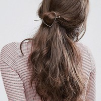 ASOS Heart Hair Stick at asos.com