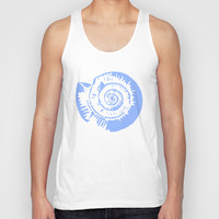 Helix Unisex Tank Top by Halfmoon Industries
