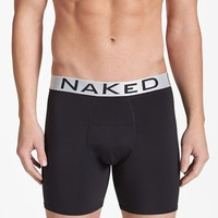 Men's Naked 'Silver' Boxer Briefs,