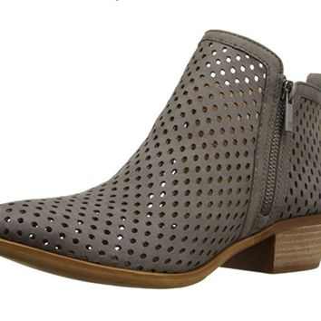 Lucky Brand Basel 3 Dark Stone Booties