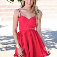 LADY LUCK DRESS , DRESSES, TOPS, BOTTOMS, JACKETS & JUMPERS, ACCESSORIES, 50% OFF SALE, PRE ORDER, NEW ARRIVALS, PLAYSUIT, GIFT VOUCHER,,Red Australia, Queensland, Brisbane