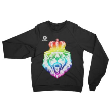 Rainbow Lion Head Sweater