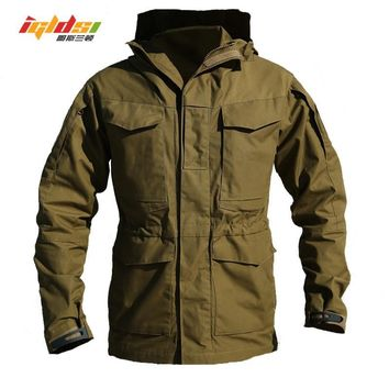 Trendy M65 UK US Army Clothes Casual Tactical Windbreaker Men Winter Autumn Waterproof Flight Pilot Coat Hoodie Military Field Jacket AT_94_13