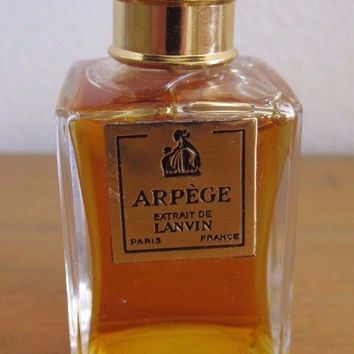 VINTAGE ARPEGE EXTRAIT DE LANVIN PERFUME WOMEN PARIS FRANCE 28 GR SEALED RARE