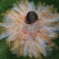 Harvest Festival Tulle Flower Girl Dress Size 2-4T