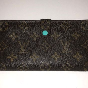 Authentic LOUIS VUITTON Continental Clutch Bi-fold Long Wallet Monogram SD1929