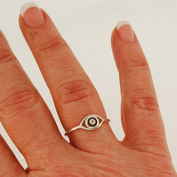 Eye Protect  Diamond Ring