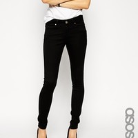 ASOS TALL Lisbon Skinny Mid Rise Jeans