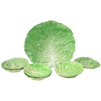 Napoli Cabbage Plates and Bowl