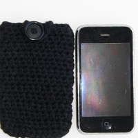 Free Shipping in U.S.A - My Black Book - Small Cell Phone Case - Cell Phone Holder - Cell Phone Cozy - Apple - Samsung - Android - Nokia