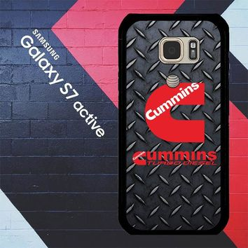 Cummins Turbo Diesel Logo Z3883 Samsung Galaxy S7 Active Case